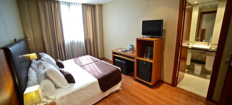 HABITACIÓN DOBLE USO INDIVIDUAL Hotel HLG CityPark Sant Just